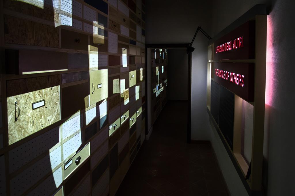 l'ingresso del Piccolo museo del diario